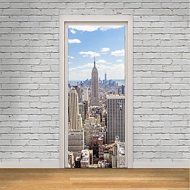 Famous Landscape 3D Wall Stickers Plane Wall Stickers 3D Wall Stickers Decorative Wall Stickers 3D, Paper Home Decoration Wall Decal Wall