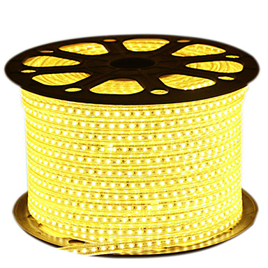 HKV 10m Flexible LED Light Strips 600 LEDs 2835 SMD Warm White / White / Blue Cuttable / Waterproof 220 V 1pc / IP65