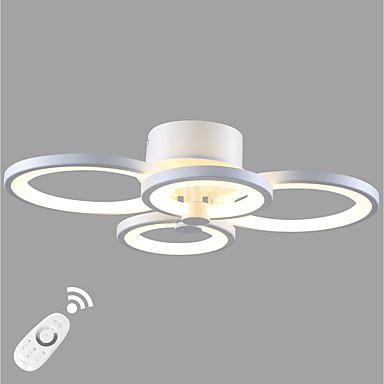 Ecolight™ Mennyezeti lámpa Háttérfény Festett felületek Fém Akril Az izzó tartozék, Tompítható, A tervezők 90-240 V Meleg fehér / Fehér LED fényforrás / Beépített LED