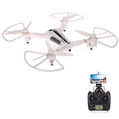 RC Drone XK X300-W 4 Channel 6 Axis 2.4G With 720P HD Camera RC Quadcopter Height Holding WIFI FPV LED Lighting One Key To Auto-Return