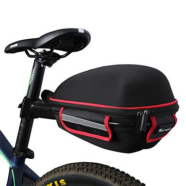 WEST BIKING® Nyeregtáska Túratáskák csomagtartóra Vízálló Hordozható Könnyű Kerékpáros táska Ruhaanyag Lycra Kerékpáros táska Kerékpáros táska Kerékpározás / Kerékpár