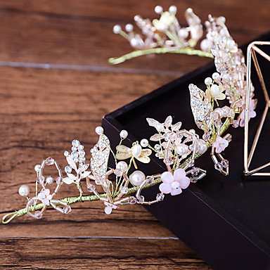 Alloy Headbands with Flower 1pc Wedding / Party / Evening Headpiece