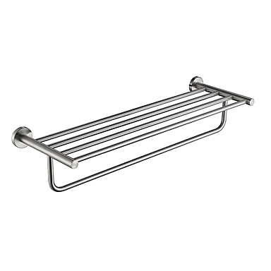 Bathroom Shelf High Quality Stainless Steel Stainless Steel / Iron 1 pc - Hotel bath Double