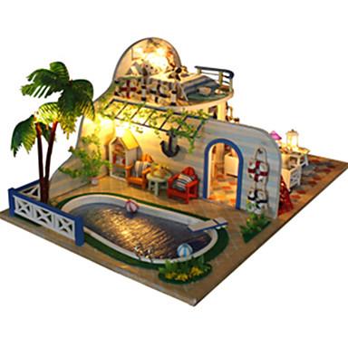 voordelige 3D-puzzels-Muziekdoos Modelbouwsets Huis DHZ Unisex Jongens Meisjes Kinderen Volwassenen Speeltjes Geschenk