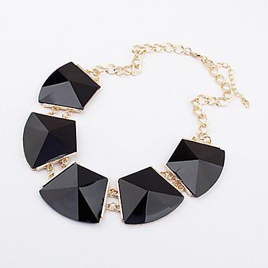 Női Luxus Mások Nyaklánc medálok Nyilatkozat nyakláncok  -  Luxus Divat Fehér Fekete Nyakláncok Kompatibilitás Napi Hétköznapi
