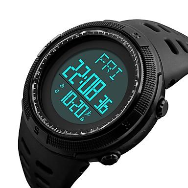 Intelligens Watch YYSKMEI1295 Vízálló / Lépésszámlálók / Fényképezőgép Ébresztőóra / Kronográf / Naptár / Hosszú készenléti idő