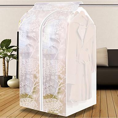 Textile Plastic Oval Anti-Dust Home Organization, 1pc Closet Organizers Storage Units