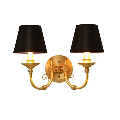 Tiffany / Simple / Traditional / Classic Wall Lamps & Sconces Fabric Wall Light 110-120V / 220-240V 5 W / E14