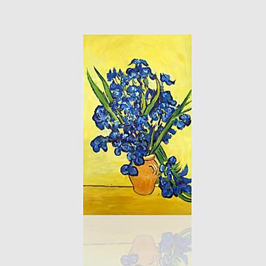 Handgemalte Blumenmuster/Botanisch Blume Ein Panel Leinwand Hang-Ölgemälde For Haus Dekoration
