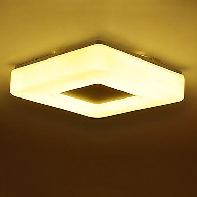 Modern / kortárs Mennyezeti lámpa Háttérfény - Szemvédelem, 220 V, Meleg fehér Fehér, LED fényforrás