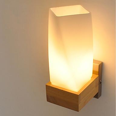 Egyszerű Modern/kortárs Ország Fali lámpák Kompatibilitás Fa/ Bambusz falikar 220 V 5W
