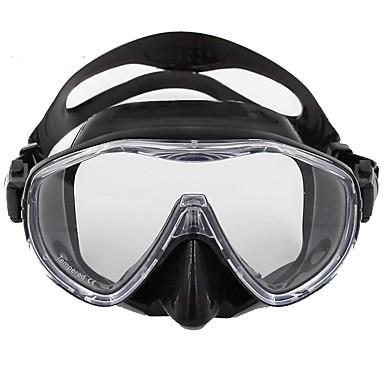 Snorkel maszk Búvárkodás Maszkok Hordozható Vízálló Könnyű Búvárkodás Üvegszál Szilikon
