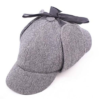 Hat / Cap Inspired by Cosplay Cosplay Anime Cosplay Accessories Hat Wool Men's Celebrity Style / Stripe