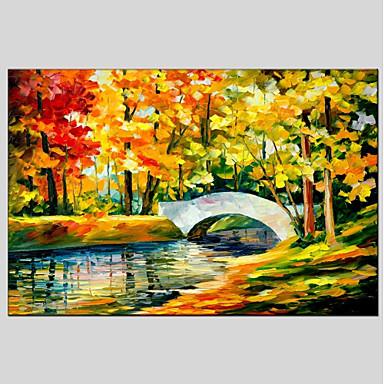 Print Stretched Canvas - Landscape Classic