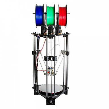 geeetech Rostock 301 mistura de cores filamento 3d impressora: bico de 1,75 milímetros: 0,4 milímetros