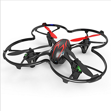 RC Drone Hubsan H107C 4 Channel 6 Axis RC Quadcopter LED Lights / 360°Rolling / With Camera RC Quadcopter / Remote Controller /