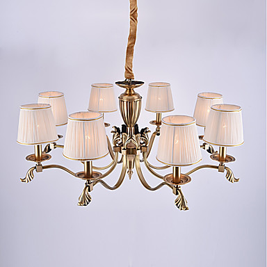 8-Light Csillárok Háttérfény - Mini stílus, 110-120 V / 220-240 V Az izzó nem tartozék / 50-60 ㎡ / E12 / E14