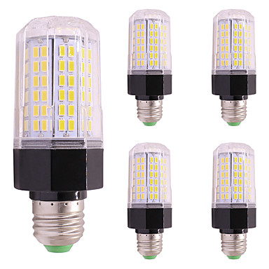 5PCS 9W 850 lm LED Corn Lights E27/E14 112 leds SMD 5730 Warm White Cold White AC85-265
