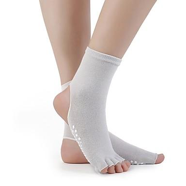 זוג 1 בגדי ריקוד נשים גרביים אחיד ספורט כותנה EU36-EU42