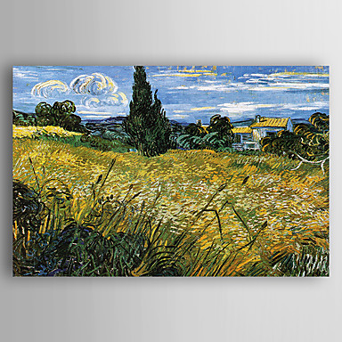 Oil Painting Hand Painted - Landscape New Arrival Canvas