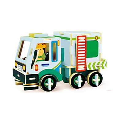 voordelige 3D-puzzels-RUOTAI 3D-puzzels Voertuigen Vrachtwagen Puinen 1 pcs Truck Kinderen Volwassenen Speeltjes Geschenk