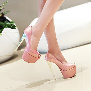 Rose Noir Sandales Nouveauté Femme 06318105 Chaussures Bout Mariage Automne Confort Similicuir Amande ouvert 6Wzg8W