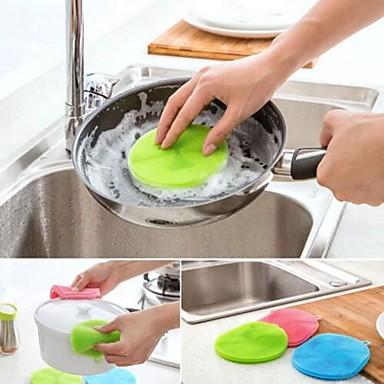 Jó minőség 1db Gumi Tisztító kefe és rongy Eszközök, Konyha Tisztító szerek