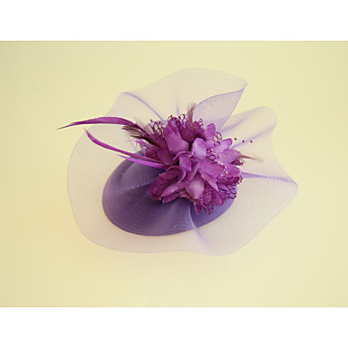 Flannelette / Fabric Fascinators / Hats with 1 Wedding / Party / Evening Headpiece