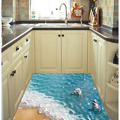 Decorative Wall Stickers - 3D Wall Stickers Animals Bathroom / Kitchen / Kids Room