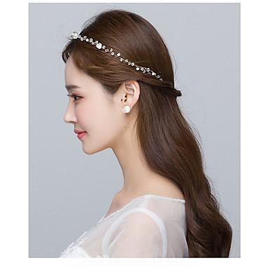 Pearl Headbands Flowers 1 Wedding Special Occasion Headpiece