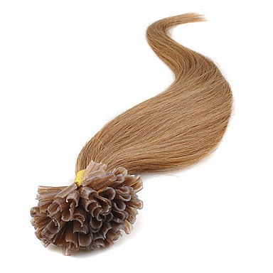 Febay Końcówka Fusion / U Ludzkich włosów rozszerzeniach Klasyczny Przedłużenia z naturalnych włosów Włosy naturalne Damskie