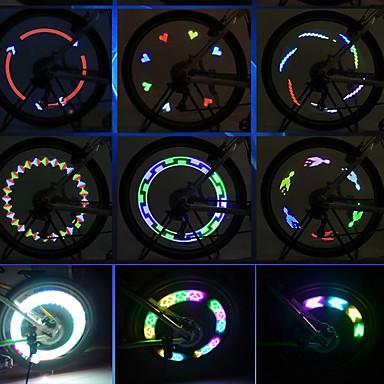 Csík világítás LED LED Kerékpározás Hordozható Könnyű AAA Lumen AkkumulátorBattery Kerékpározás