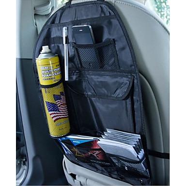 טֶקסטִיל מלבן התקן קיר Multi-function נגד אבק בית אִרגוּן, 1pc סטי אחסון לרכב