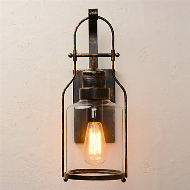 OYLYW Rustic / Lodge / Antique / Vintage Wall Lamps & Sconces Living Room / Dining Room Metal Wall Light 110-120V / 220-240V 60 W / E26 / E27