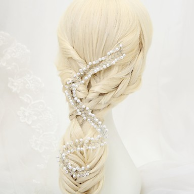Tulle Alloy Headbands with Feather 1 Wedding Special Occasion Birthday Event/Party Party / Evening Headpiece