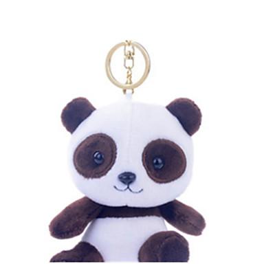 hesapli Oyuncaklar ve Oyunlar-Anahtarlık Hayvanlar Ayı Panda Oyuncak ayı Pamuk Çocuklar için Unisex Oyuncaklar Hediye
