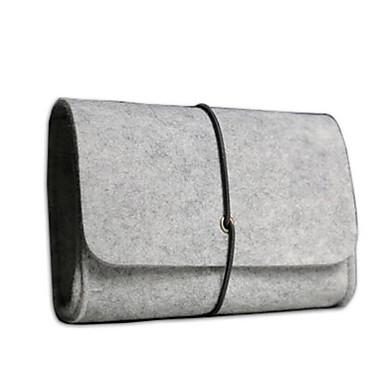Women's Bags PU Clutch Zipper Sillver Gray