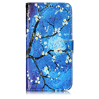Case For Motorola Card Holder Wallet with Stand Flip Pattern Full Body Cases Flower Tree Hard PU Leather for Moto G5 Plus Moto G5 Moto C