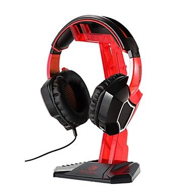 Sades S-xlyz Gaming Headset Cradle Acrylic Bracket Stand