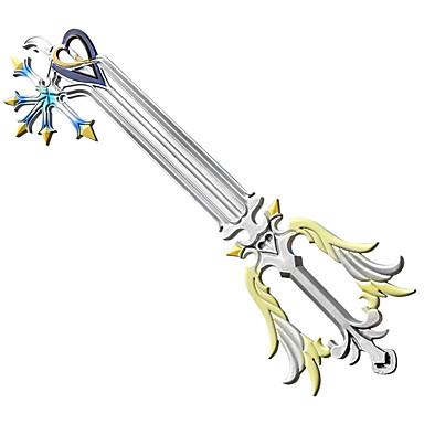 Arma Espada Inspirado por Kingdom Hearts Fantasias Anime Acessórios para Cosplay Arma PVC ABS Homens Mulheres novo quente