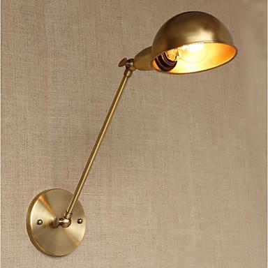 Simple / LED / Vintage Swing Arm Lights Metal Wall Light 110-120V / 220-240V 4W