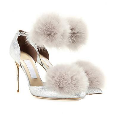 abordables Accessoires pour Chaussures-Métal Ornement Femme Printemps Décontracté Rouge / Bleu / Rose / Strass
