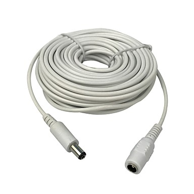 10m(30ft) 2.1x5.5mm DC 12V Power Extension Cable for CCTV Security Cameras IP Camera DVR Standalone