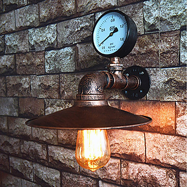 Retro Fali lámpák Kompatibilitás Hálószoba Fém falikar