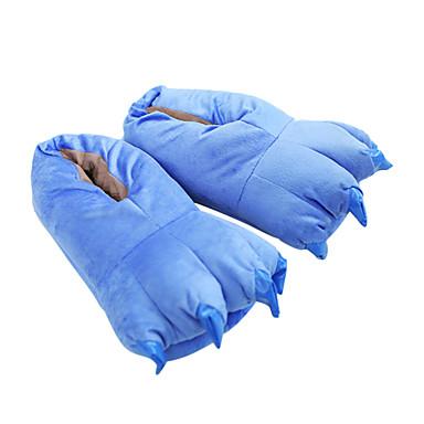 Kigurumi papuče Plavi čudovište Monster Onesie pidžama Kostim Poliester Pamuk Plava Cosplay Za Odrasli Zivotinja Odjeća Za Apavanje