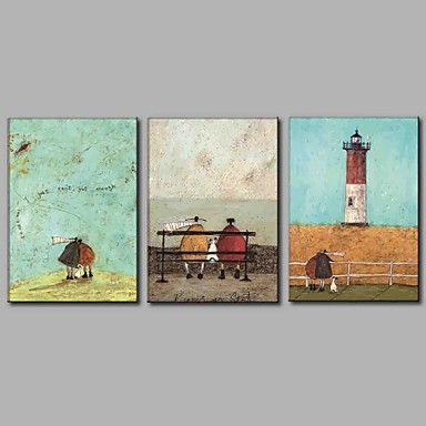 Print Stretched Canvas - Still Life Modern / Contemporary Three Panels