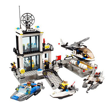 Building Blocks 536 pcs Architecture / Police / Police Station Classic Boys' Gift