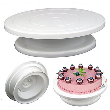 28cm Rotating Turntable Cake Stand KitchenIcing  Fondant Baking Tool
