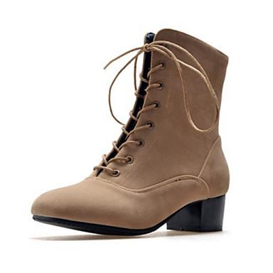 Demi Mode Daim Nouveauté 06389355 Bottes Bout Botte Chaussures aRHRwP