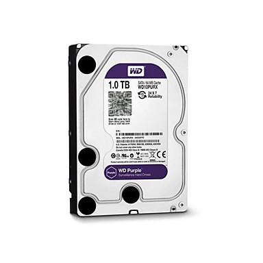 WD® Dyski twarde WD10PURX 1TB(IntelliPower 64MB Cache) purple drive 3.5-inch HDD surveillance for CCTV NVR na Bezpieczeństwo systemy